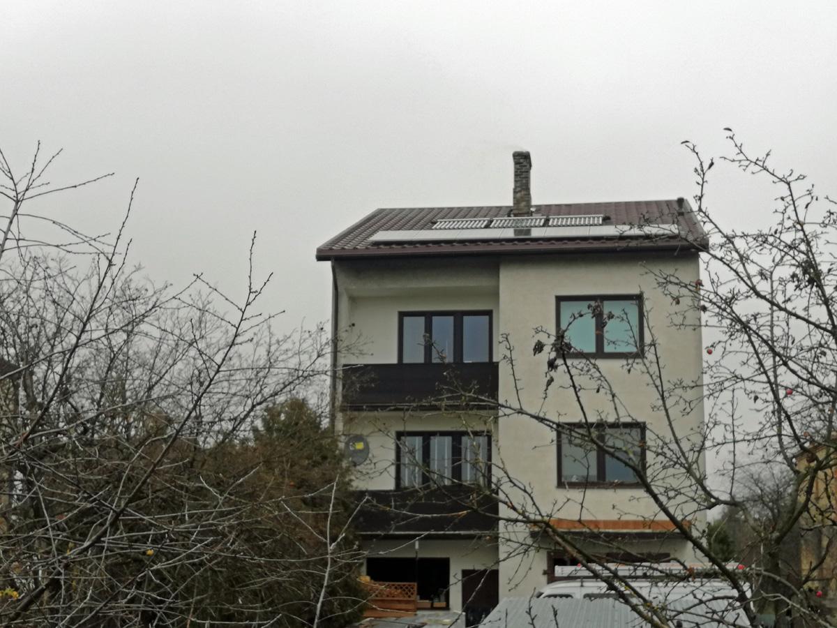 Instalacje fotowoltaiczne - domki jednorodzinne